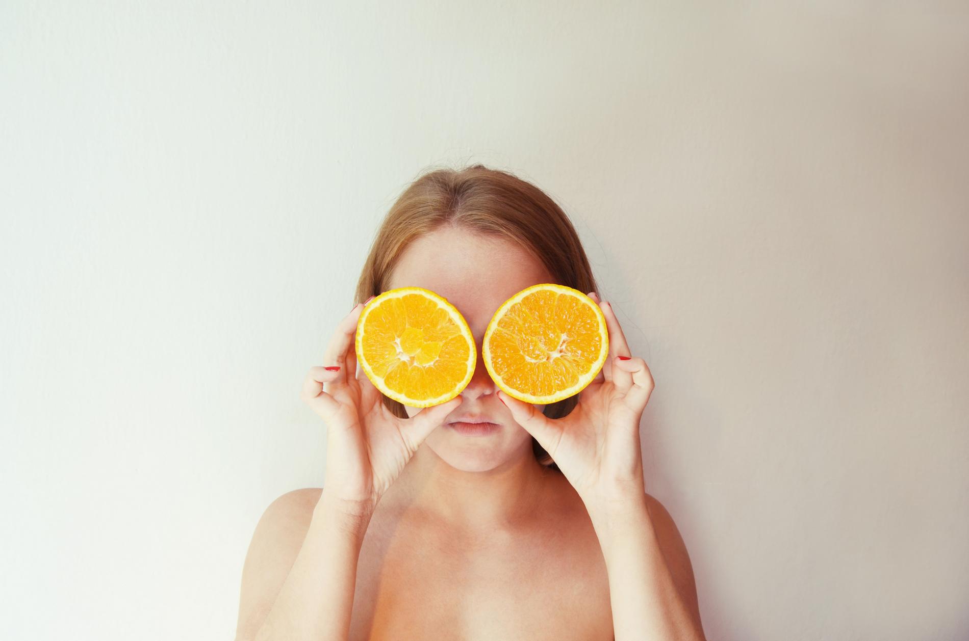 Autoportrét 2014 Pomeranče